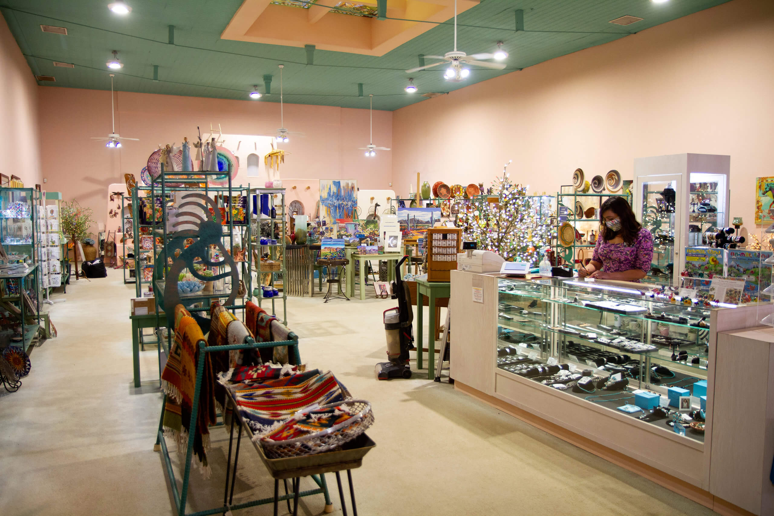 Arlenes store with Native American jewelry and gifts